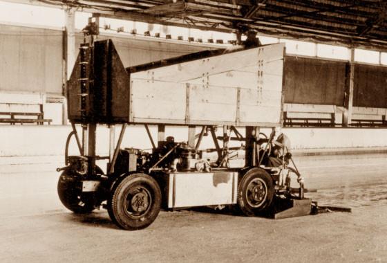 Jedna z pierwszych Zamboni, model A