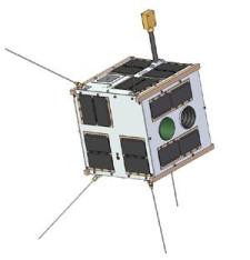Tak będzie wyglądał polski satelita.