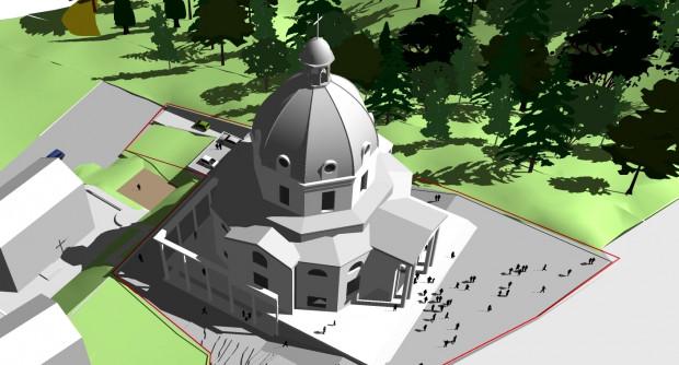 Nowa świątynia w Gdańsku ma być wotum wdzięczności gdańskiej archidiecezji dla Jana Pawła II, dlatego będzie przypominać rzymską bazylikę św. Piotra, choć będzie od niej znacznie mniejsza.