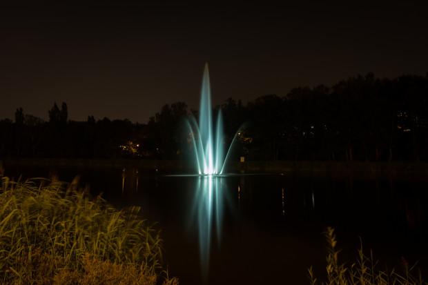 Tak prezentowała się fontanna przy Trasie Słowackiego w zeszłym roku.