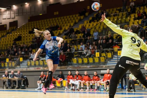 Katarzyna Janiszewska zagrała w środę na własną prośbę i... została najskuteczniejszą zawodniczką meczu.