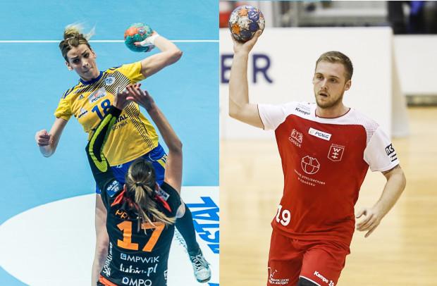 Vistal już z Aleksandrą Zych (z lewej) w składzie może przypieczętować wygraną w sezonie zasadniczym. Wybrzeże Łukasza Rogulskiego (z prawej) walczy natomiast o bezpośredni awans do play-off.