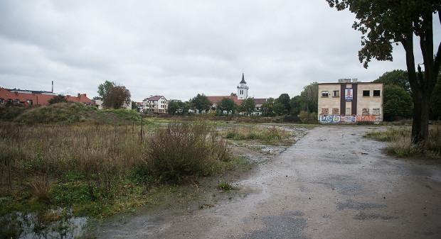 Obecny wygląd terenów Gedanii.
