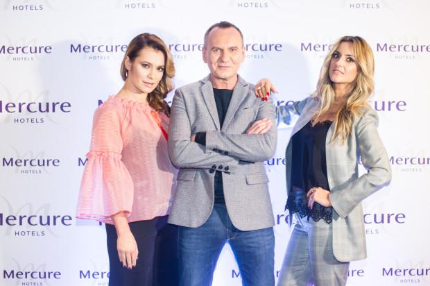 Anna Oberc, Karolina Szostak i Jarosław Szado - goście Mercure Fashion Night