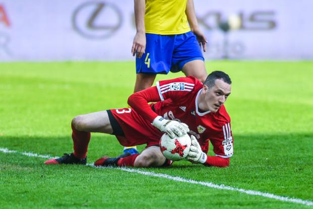 Konrad Jałocha broni w Arce Gdynia drugi sezon na zasadzie wypożyczenia z Legii Warszawa. W ekstraklasie tylko w dwóch meczach nie wszedł do bramki.