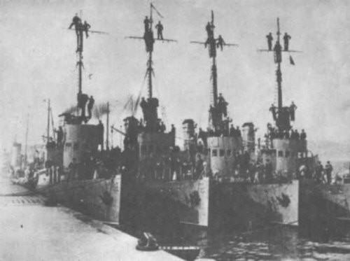 Poniemieckie trałowce typu FM sprowadzone do Polski po 1918 r. były pierwszymi jednostkami tego typu, które pływały pod biało-czerwoną banderą.
