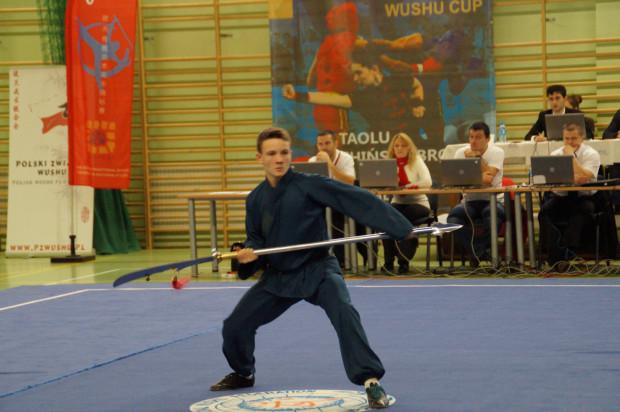 Maksymilian Murszewski w kung fu na razie kolekcjonuje sukcesu w formach ręcznych i z bronią, ale przygotowuje się także do walk w niepełnym kontakcie.
