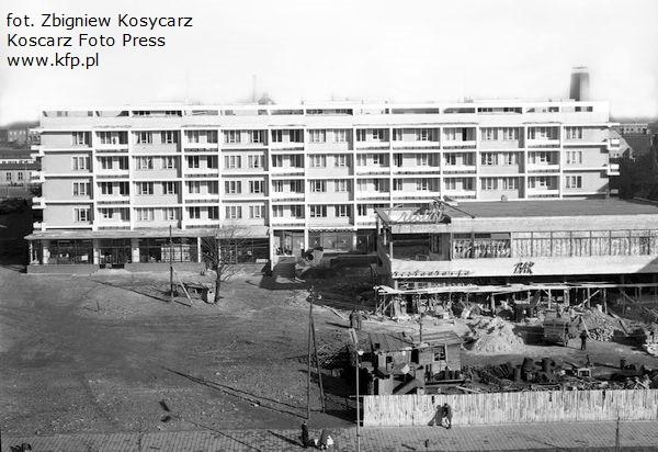 Budowa Cristalu była prowadzona na przełomie lat 50. i 60. Restaurację otwarto 1 lipca 1961 r.