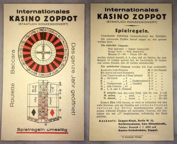Za czasów Ericha Laue sopockie kasyno stało się pokaźnym źródłem dochodów dla budżetu miasta.