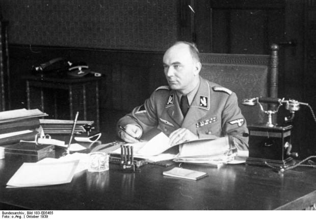 Zbrodniarz wojenny Artur Greiser był przed wojną prezydentem Senatu Wolnego Miasta Gdańska, a następnie namiestnikiem należącego do III Rzeszy Kraju Warty.