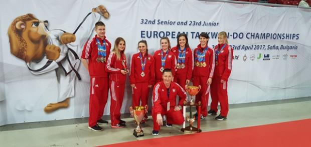 Zawodnicy Gdańskiego Klubu Taekwon-do zdobyli 20 z 42 medali wywalczonych przez polską reprezentację.
