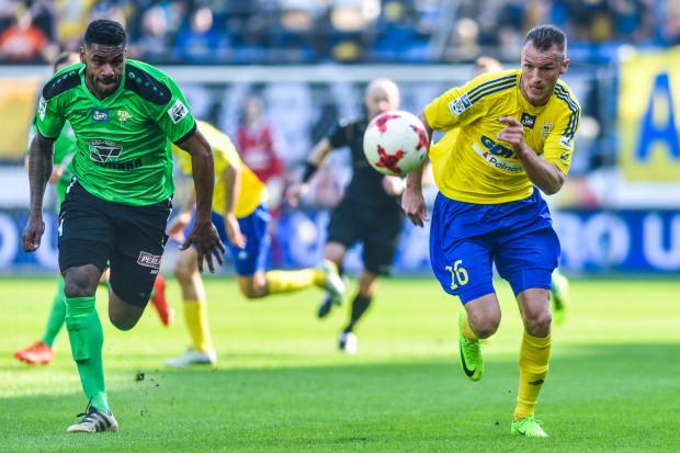 Przemysław Trytko wrócił do treningów z drużyną, ale wątpliwym jest, aby był gotowy na 90 minut gry z Piastem Gliwice.