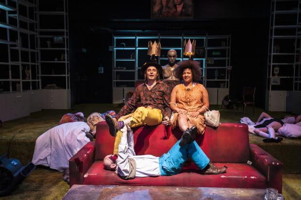 """Spektakl """"Po """"Burzy"""" Szekspira"""" w reżyserii Agaty Dudy-Gracz będzie jedną z ciekawszych propozycji 12. Festiwalu R@Port w Gdyni."""
