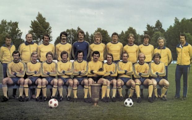 Arka Gdynia - zdobywcy Pucharu Polski z 1979 roku.