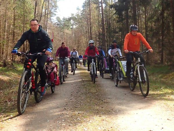 W pierwszym tegorocznym Rodzinnym Pikniku Rowerowym zorganizowanym przez Grupę Rowerową 3miasto wzięło udział ponad 40 osób