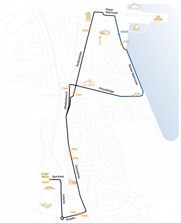 W stosunku do poprzednich edycji trasa została zmieniona, a biegacze zajmą m.in. al. Zwycięstwa.