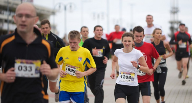 Skwer Kościuszki, dotychczas start i meta biegu, tym razem będzie tylko etapem.