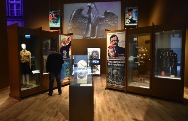 Fragment ekspozycji prezentowanej w ramach wystawy stałej w Muzeum II Wojny Światowej.