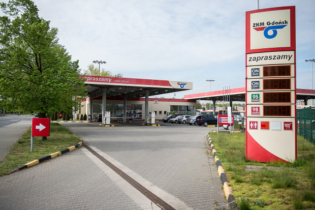 Stacja paliw w tym miejscu już nie wróci. GAiT postanowił ją zamknąć, bo nie był w stanie utrzymać obiektu z samej sprzedaży paliw.