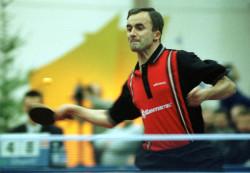Andrzej Grubba, mistrz Europy w tenisie stołowym w 1982 r.