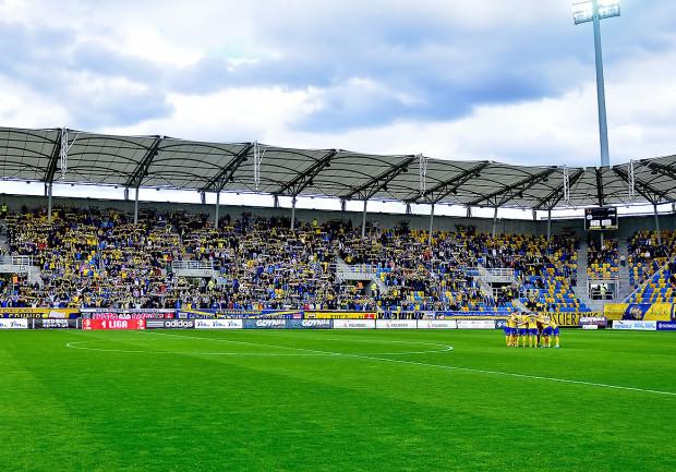 W tym sezonie piłkarze Arki pojawią się na Stadionie Miejskim jeszcze dwa razy - podczas czwartkowego treningu i sobotniego meczu z Ruchem Chorzów.