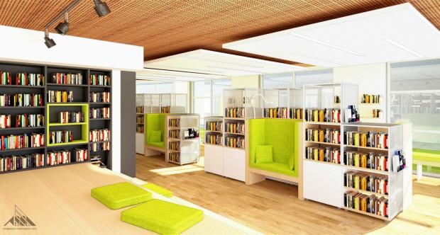 Nowa biblioteka w PPNT ma przyciągnąć głównie młodszych mieszkańców, niekoniecznie zainteresowanych tylko papierowymi publikacjami.