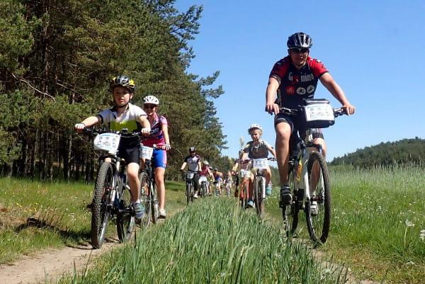 70 osób wzięło udział w Rodzinnym Pikniku Rowerowym pt. Kaszebe Rundka