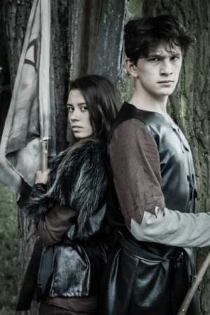 Przywódcami wikińskiej społeczności będą Astrid (Iga Szubelak) i Eryk (Ignacy Liss).