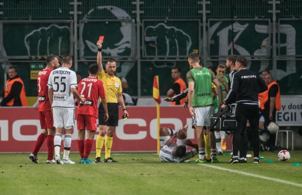 Sławomir Peszko po czerwonej kartce w meczu z Legią Warszawa nowy sezon będzie mógł rozpocząć dopiero w 5. kolejce.