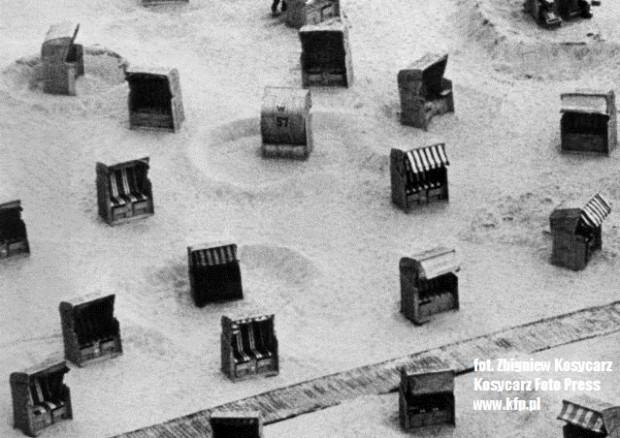 Jeszcze kilkadziesiąt lat temu, kosze były podstawowym elementem wyposażenia każdej plaży.