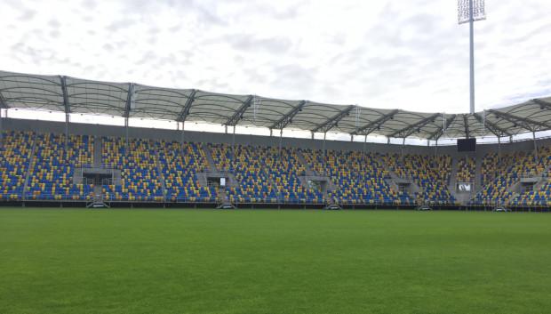 Stadion Miejski w Gdyni i jego murawa gotowe na trzy mecze piłkarskiego Euro U-21.