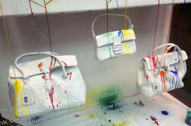 Meret Probst z Royal College of Art i jej instalacja w butiku Fendi.