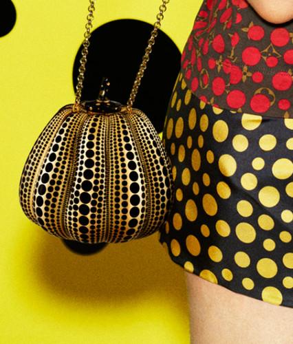 Yayoi Kusama i Louis Vuitton.