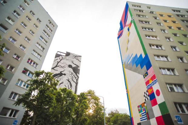 Na Zaspie jest 59 murali i każdy przedstawia co innego. To świetne alternatywne miejsce, do którego nie zaprowadzi nas przewodnik.