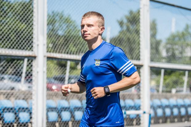 Testowany Patryk Kun zdobył bramkę na wagę remisu w swoim pierwszym sparingowym występie w barwach Arki.