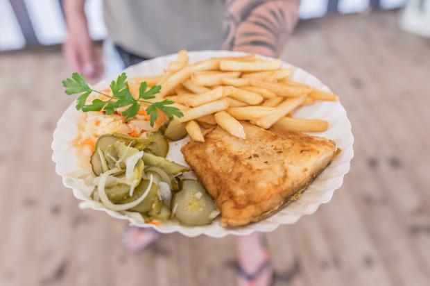 Bar41 to idealne miejsce na smażoną rybę z frytkami.