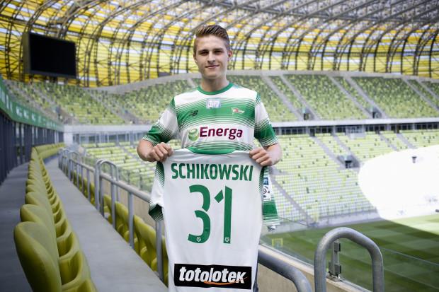 Florian Schikowski w debiutanckim sparingu w Lechii Gdańsk strzelił gola.