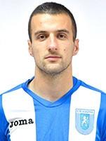 Filip Jazvić jako piłkarz Univesitatea Craiova