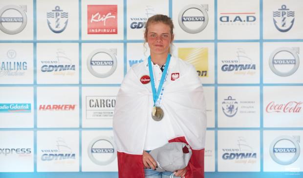 Wiktoria Gołębiowska w Gdyni zdobyła mistrzostwo Europy juniorek klasy Laser Radial.