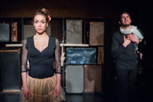 """Będzie m.in. okazja by zobaczyć w plenerze """"Emigrantkę"""", biograficzny spektakl stworzony na podstawie historii Vilde Valldal-Johannessen (na zdjęciu)."""