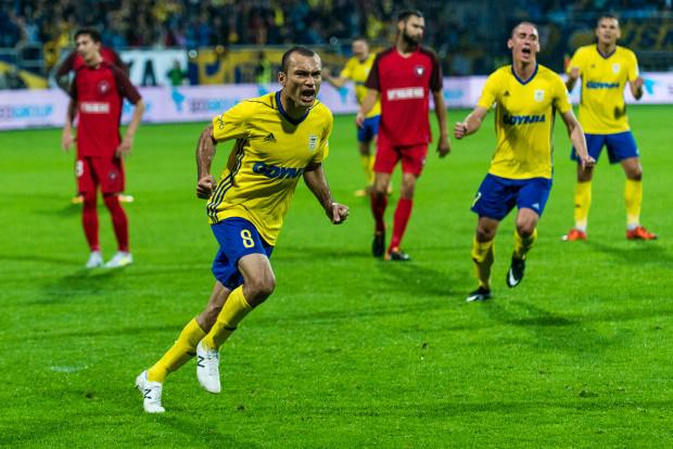 Marcus rozpoczął strzelanie goli w rywalizacji Arki Gdynia z FC Midtjylland o 4. rundę kwalifikacji Ligi Europy. Do Danii pojechał z nadzieją na obronę zaliczki z pierwszego spotkania. Awans da nawet utrzymanie wyniku 0:0.