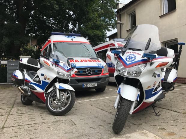 Na wyposażeniu Motocyklowego Pogotowia Ratunkowego w Gdańsku są dwie w pełni wyposażone Hondy ST 1300