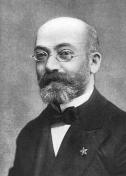 Dr Eliezer Lewi Samenhof, czyli dr Ludwik Łazarz Zamenhof (1859-1917), twórca języka esperanto (domena publiczna)