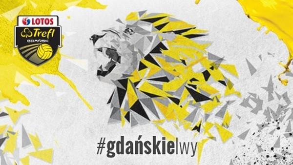 Wizerunek lwa pojawi się w nadchodzącym sezonie na strojach siatkarzy Lotosu Trefla.