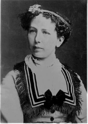 Anna Tuschinski w 1870 r. (ze zbiorów ÖNB Wien)