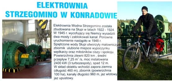 """Docieramy do pieknie położonej Elektrowni Wodnej """"Strzegomino"""" w Konradowie"""