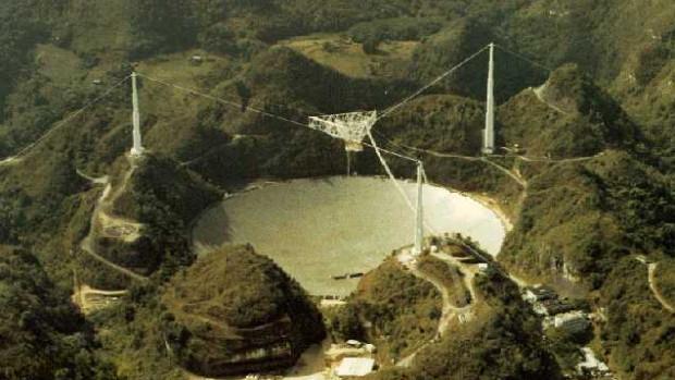 Obserwatorium Arecibo w Portoryko ma 305 m średnicy, Jan Heweliusz ma mieć 90 m.