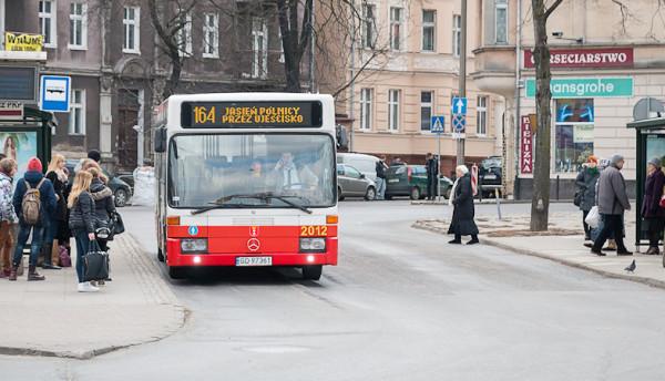 Jeden z najstarszych autobusów we flocie GAiT z 1994 r.
