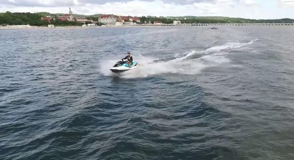 W sobotę można wziąć udział w zawodach dla amatorów, chcących ścigać się na skuterach wodnych.