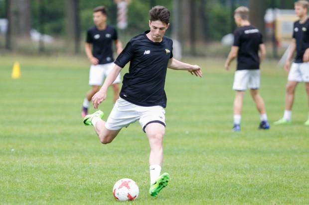 Aleksander Gabryel popisał się hat-trickiem podczas zwycięskiego meczu juniorów Lechii w I rundzie okręgowego Pucharu Polski.